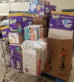 donated diapers
